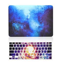 TOP CASE – 2 in 1 Galaxy Graphic Rubberized Hard Case + Ke