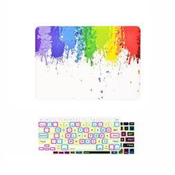 TOP CASE – 2 in 1 Bundle Deal Air 13-Inch Paint Splash Rub