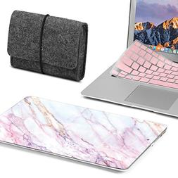 GMYLE MacBook Air 13 Inch Case Bundle Older Version A1369 /