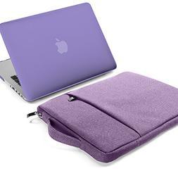GMYLE 2 in 1 Bundle Lavender Purple Set Soft-Touch Matte Pla
