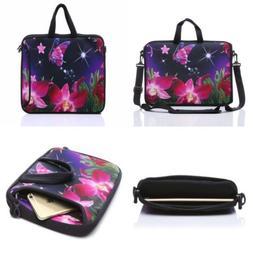 YIDA 10-Inch Laptop Shoulder Sleeve Case and Tablet Bag for