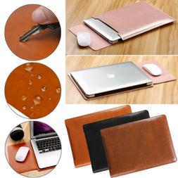 "US For 11"" ~ 11.6"" Macbook Notebook Laptop Slim PU Leather S"