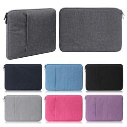 11 13 15 15.6 Laptop Bag Sleeve Case For MacBook Air Pro Len