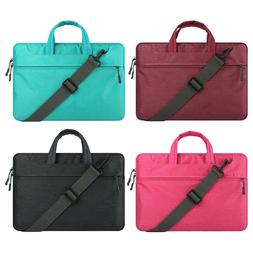 "Laptop Shoulder Bag 15.6"" Messenger Carry Case For MacBook A"