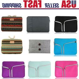 """11-15.6""""Inch Laptop Sleeve Case Bag Pouch Cover For MacBook"""