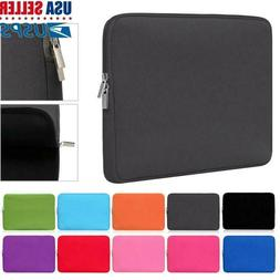 Laptop Bag Sleeve Case Cover Soft Pouch For MacBook Lenovo H