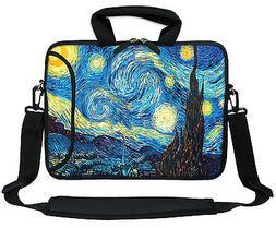 """11.6"""" 12.3"""" Neoprene Laptop Bag Case w. Side Pocket Shoulder"""