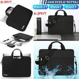 """13"""" 15.6""""Laptop Handbag Sleeve Case Bag Shockproof Waterproo"""