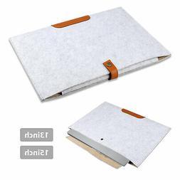 13'' 15'' Laptop Sleeve Case Travel Carry Cover Bag Pouch DE