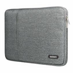PUREBOX 13.3-14 in Gray Laptop Sleeve with Extra Case for Ch
