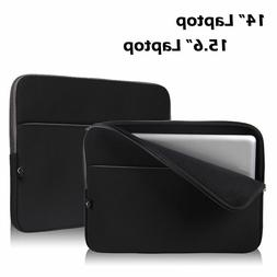 """14"""" 15.6"""" Inch Soft Laptop Sleeve Case Bag Pouch Cover f"""