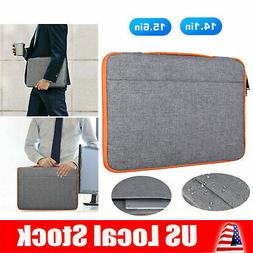 """14"""" 15"""" Waterproof Laptop Sleeve Case Bag Carry Pouch for Ma"""