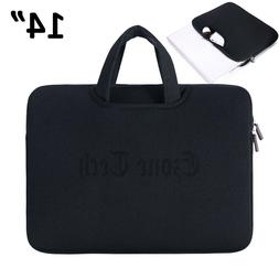 14 Inch Laptop Bag Case Sleeve with Handle For HP Lenovo Asu