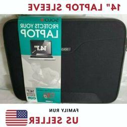 """14"""" Laptop Sleeve Case Cover For HP Chromebook Dell Lenovo N"""