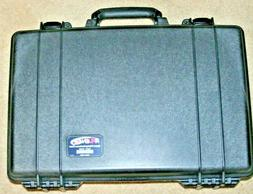 Pelican 1490 Black Laptop Case Military Grade With Foam for