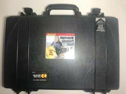 Pelican 1490 Case Black Hard Shell Laptop Case Briefcase W/