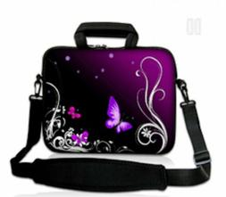 "15""- 15.6""  LAPTOP SLEEVE WITH HANDLE AND STRAP CARRY CASE P"