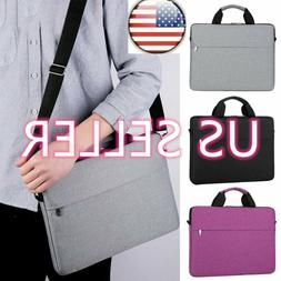 US Shockproof Laptop Sleeve Handbag Notebook Shoulder Bag Co