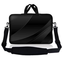 """15.6"""" Laptop Sleeve Bag Case w Shoulder Strap HP Dell Asus T"""