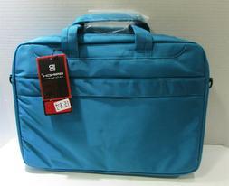 "Brinch 15.6"" Oxford Blue Fabric Lightweight Laptop Shoulder"