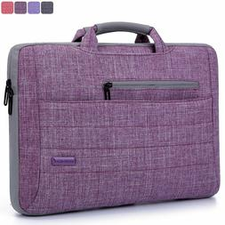 """BRINCH 15.6"""" OXFORD PURPLE SUIT FABRIC PADDED SLEEVE CASE ME"""