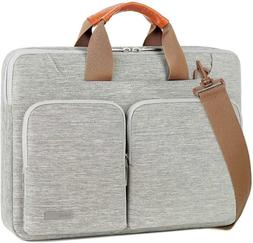 Lacdo 15 Inch 360° Protective Laptop Shoulder Bag Sleeve Ca