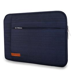 Lacdo 15 Inch Water Resistant Laptop Sleeve Case; Blue; New