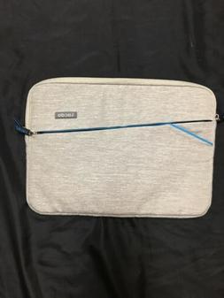 """Lacdo 15 X 11"""" Waterproof Laptop Zip Sleeve Case 3 Compart"""
