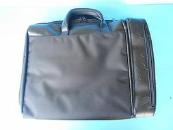 "16"" BLACK NYLON LAPTOP / TABLET CARRYING CASE BAG ACCESSORIE"