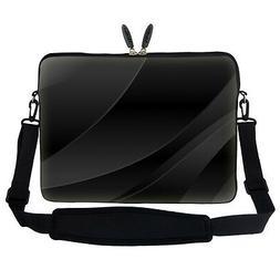 "17.3"" Laptop Computer Sleeve Case Bag w Hidden Handle & Shou"