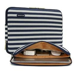 KAYOND 17 Inch Laptop Sleeve-Canvas Water-Resistant Notebook