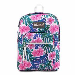 """Trans by JanSport 17"""" Supermax Backpack - Monstera Vibes"""