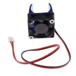 2 Pin Connector Cooling Blower Fan Case 30mmx 30mm For 3D Pr