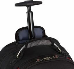 """2 x NEW Wenger Synergy Wheeled Laptop Backpack 16""""  SWISSGEA"""
