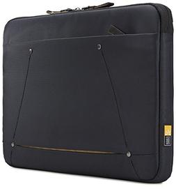 "Case Logic 3203689 Deco 13.3"" Laptop Sleeve, Black"