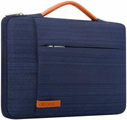 360° Protective Laptop Sleeve Case Computer Bag for 15.6 In