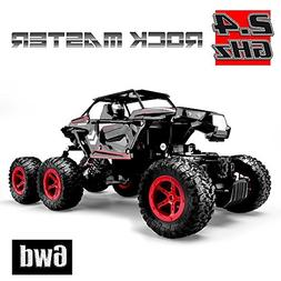 Hosim 6WD RC Rock Crawler, 1:14 Scale 2.4Ghz High Speed 20km