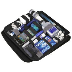 "7"" Tablet Wrap Case iPad Sleeve Laptop Accessories Organizer"