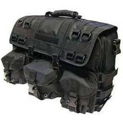 Black MOLLE Tactical Military Laptop Computer Field Briefcas