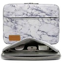 Canvaslife Marble Waterproof laptop sleeve case bag with poc