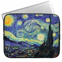 HESTECH 13-13.3 Neoprene Starry Night Laptop Case Computer S