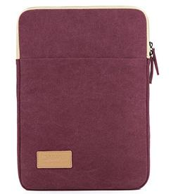 Kinmac Wine Red Canvas Vertical Style Water Resistant Laptop