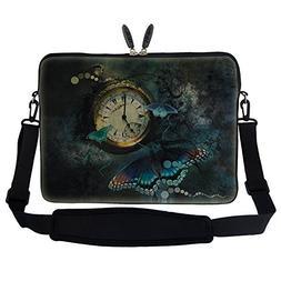 Meffort Inc 15 15.6 inch Neoprene Laptop Sleeve Bag Carrying