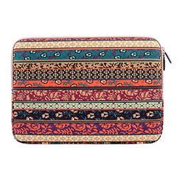 Plemo 13 - 13.3 Inch Laptop Sleeve Case Bag, Bohemian Style