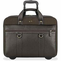 Solo Macdougal 17.3 Inch Rolling Laptop Case, Espresso