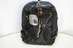 Swiss Gear SA1923 Black TSA Friendly ScanSmart Laptop Backpa