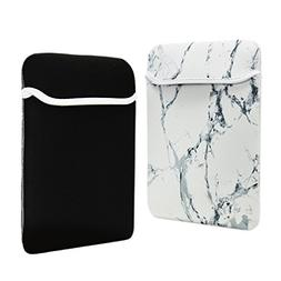 TOP CASE - Marble Pattern Reversible Sleeve Bag Cover Compat