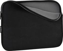 Targus - Debossed Laptop Sleeve - Gray/Black