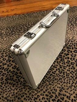 Aluminium Briefcase Quick Lock Carrying Case Briefcase Lapto