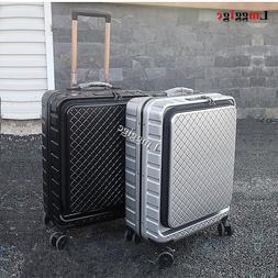 Aluminum frame Luggage with <font><b>laptop</b></font> bag w